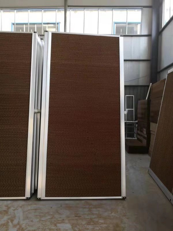 Water Wall for Cooling Green House